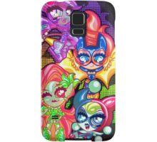 Chibi Gotham Girls Samsung Galaxy Case/Skin