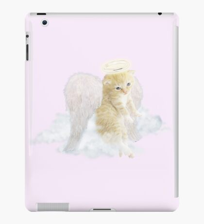 The World's Cutest Kitten Angel Ever iPad Case/Skin