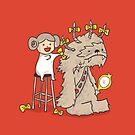 Wookie is a wonderful friend by Budi Satria Kwan