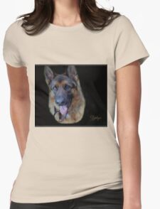 Zephyr - Portrait Womens Fitted T-Shirt