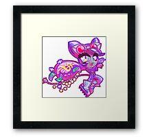 Chibi Catwoman Framed Print