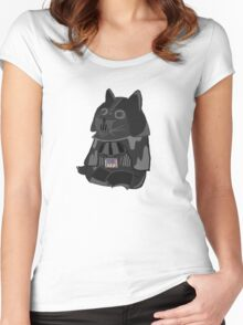 Doge Vader/Darth Vader Women's Fitted Scoop T-Shirt