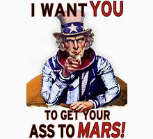 Uncle Sam - Get your Ass To Mars Unisex T-Shirt