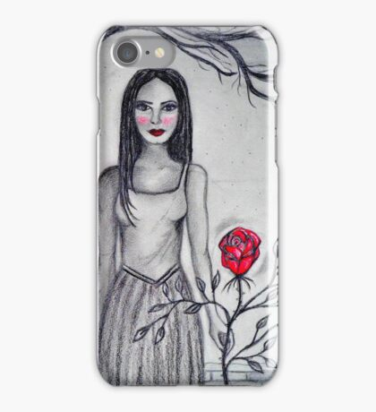 Winter Rose iPhone Case/Skin