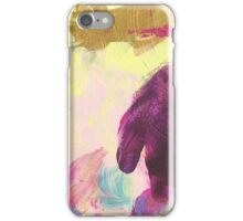 Abstract Painting in mauve and violett 06/18 iPhone Case/Skin