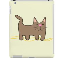 All You Need is love. And a Cat. iPad Case/Skin