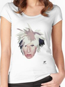 Andy Warhol - Icon Collection Women's Fitted Scoop T-Shirt