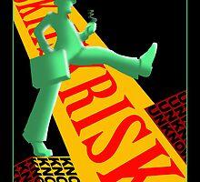 Man Takes A Risk by Kathy Shaskan