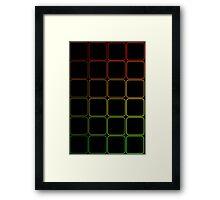 Dark Colors Framed Print