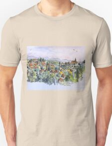 Siena, Italy. 2015© pen and wash T-Shirt