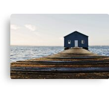 Crawley Edge Boat Shed Perth Canvas Print