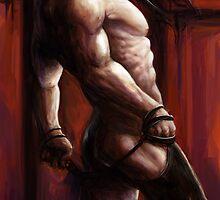 Male nude by gyossaith