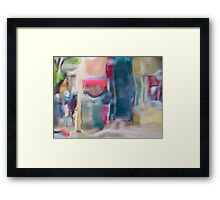 The Clay on Fillmore Framed Print
