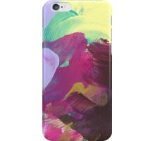 Abstract Painting in violett and gold 07/18 iPhone Case/Skin