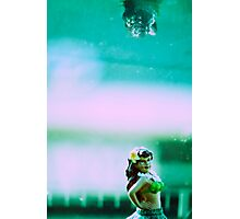 Hula Girl Photographic Print