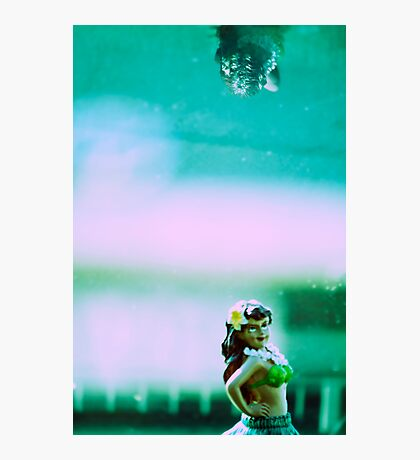 Hula Girl Photographic Print