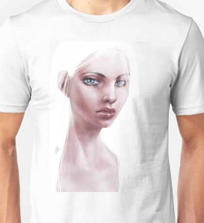 Silver Haired Girl Unisex T-Shirt