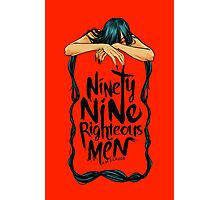 Ninety-Nine Righteous Men Cover Photographic Print