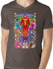"""""""It's Turbo Time!"""" Mens V-Neck T-Shirt"""