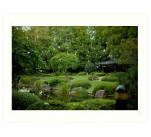 Japanese Gardens Art Print