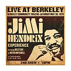 Jimi Hendrix Berkeley by xtotemx