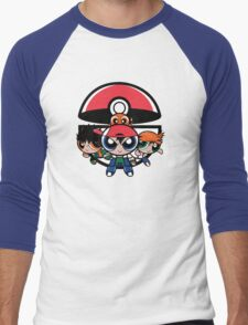 Pokepuff Kids Men's Baseball ¾ T-Shirt