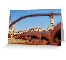 Cockatoo Island - Rust Greeting Card