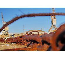 Cockatoo Island - Rust Photographic Print