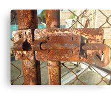 Cockatoo Island - Lock Metal Print