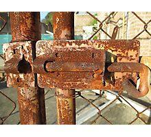 Cockatoo Island - Lock Photographic Print