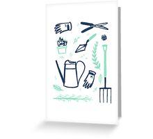 Into the Garden Greeting Card