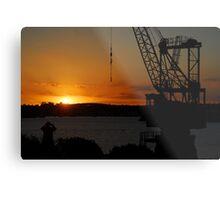 Cockatoo Island - Sunset Metal Print