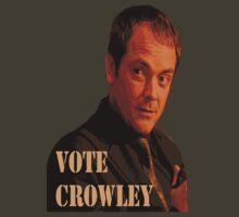 Vote Crowley  by bethanana
