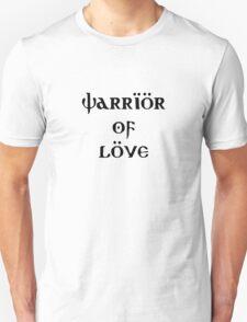 Warrior of love khaleesi vs vikings Unisex T-Shirt