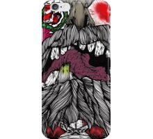 Undead Santa (color) iPhone Case/Skin