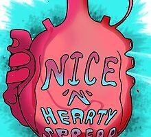 Nice'n'Hearty spread :P by BruisedNail13