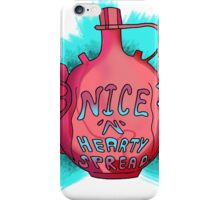Nice'n'Hearty spread :P iPhone Case/Skin