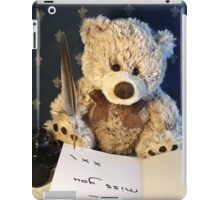 Missing you already iPad Case/Skin