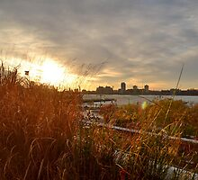 Sunset on The High Line by kelliejane