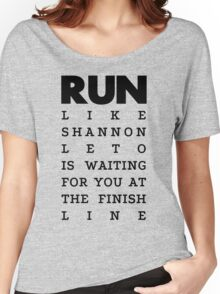 RUN - Shannon Leto Women's Relaxed Fit T-Shirt