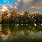 Stormy Light, Horseshoe Lagoon by Cameron B