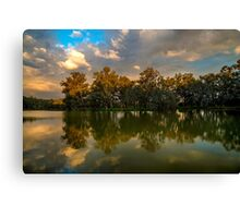 Stormy Light, Horseshoe Lagoon Canvas Print