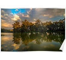 Stormy Light, Horseshoe Lagoon Poster