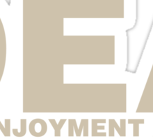 DEA Drum Enjoyment Agency Sticker