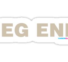 Leg End Sticker