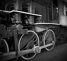 Engine in Black and White by krishoupt