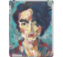 Skylár - Portrait of a young woman iPad Case/Skin