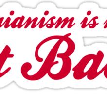 Vegetarianism Is Murder Eat Bacon Sticker