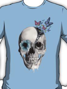 Open minded, unzipping sugar skull  T-Shirt