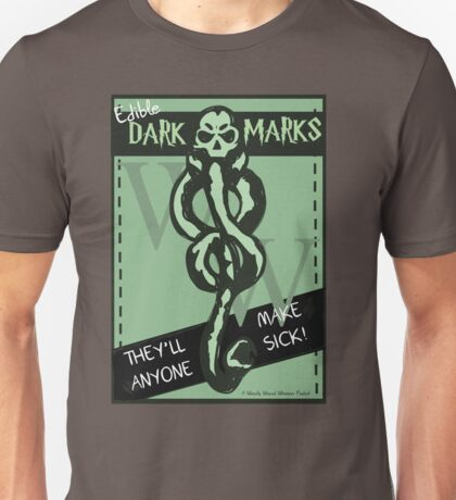 Edible Dark Marks Unisex T-Shirt